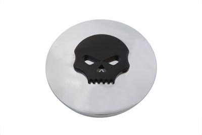 Air Cleaner Insert with Black Skull