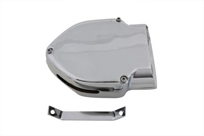 Chrome V-Charger Air Cleaner