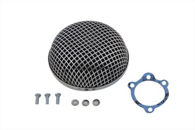 Chrome Round Mesh Air Cleaner