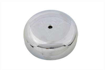 Round Air Cleaner with V-logo