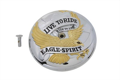Eagle Spirit Air Cleaner Insert Gold Inlay