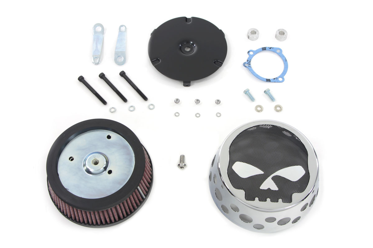 Skull Mesh Air Cleaner Kit