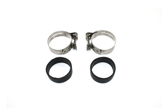 Stainless Steel Intake Manifold Clamp Set