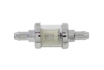 Kleer-Thru Fuel Filter Chrome and Glass