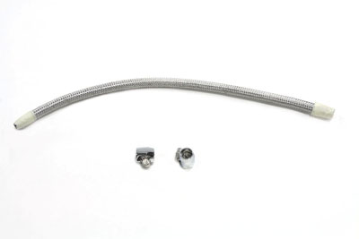 Cross Over Fuel Line Kit Stainless Steel