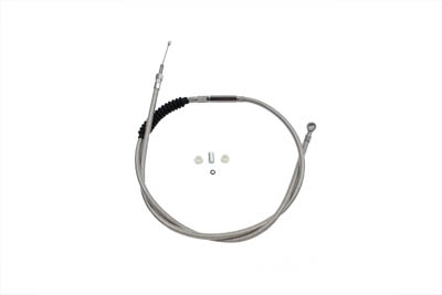 "65.69"" Braided Stainless Steel Clutch Cable"