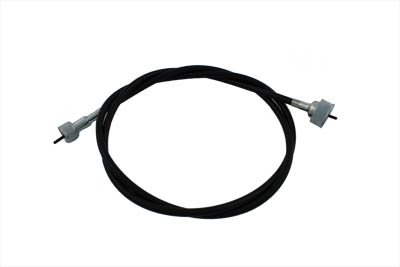 "54-1/2"" Black Speedometer Cable"
