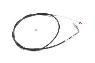 "33.5"" Black Throttle Cable 90° Elbow Fitting"