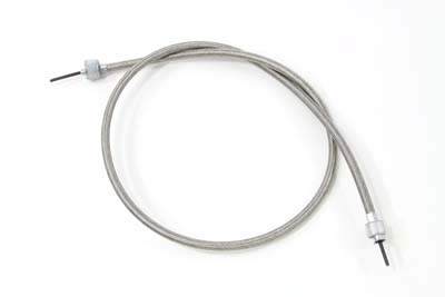 "38.5"" Braided Stainless Steel Speedometer Cable"