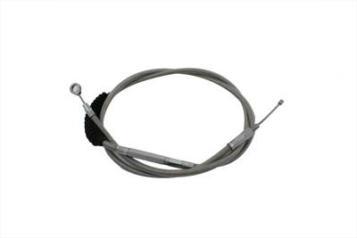 "68.69"" Braided Stainless Steel Clutch Cable"