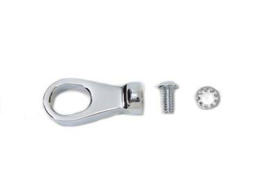 Billet Speedometer Cable Ring Chrome