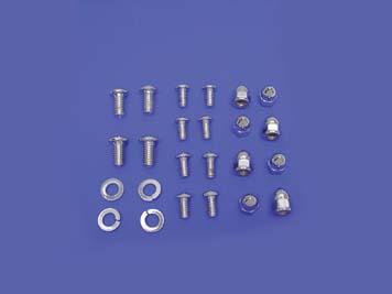 Fender Mount Chrome Allen Screw Kit