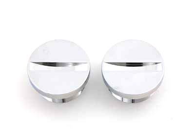 Primary Cover Cap Set Chrome