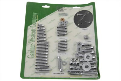 Engine Dress Up Screw Kit Allen Chrome