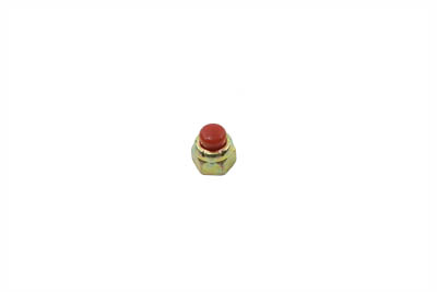 Red Cap Nut 10-32