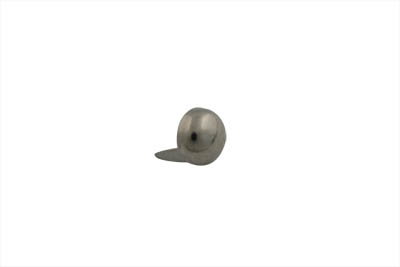 "3/8"" Round Saddlebag Spot Nickel"