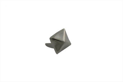 "3/8"" Pyramid Saddlebag Spots Bright Nickel"