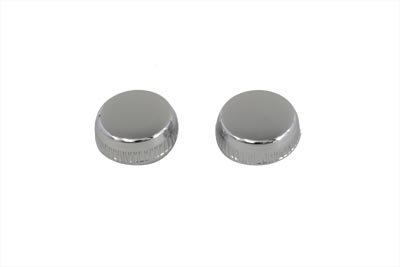 Frame Cover Chrome Knurled Knob Set
