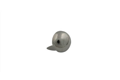 "7/16"" Round Saddlebag Spot Nickel"