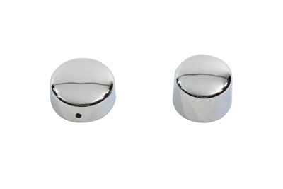 Chrome Rear Axle Nut Cap Set