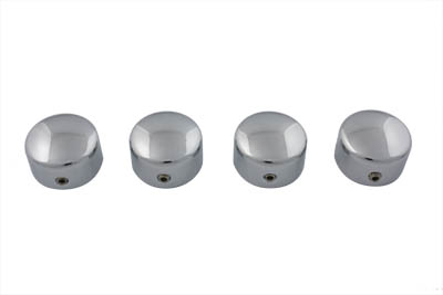 Head Bolt Cover Set Dome Chrome