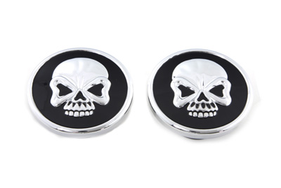 Skull Style Pop-Up Gas Cap Set Vented and Non-Vented