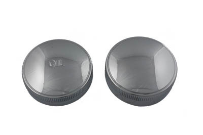 Gas Cap and Oil Cap Set Chrome