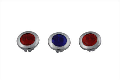 Three Light Dash Panel Lens Set