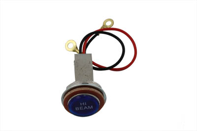 Blue High Beam Indicator Lamp