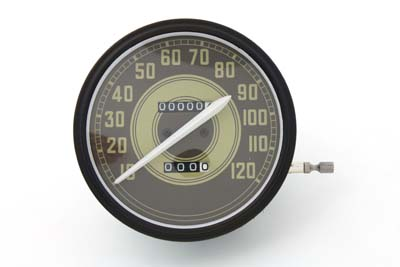 Speedometer with 2:1 Ratio and Army Graphics