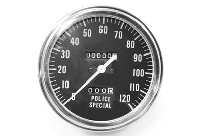 Police Special Speedometer with 2240:60 Ratio