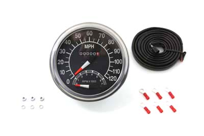 Speedometer with 2:1 Ratio and Tachometer