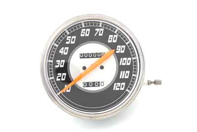 Replica 2:1 Speedometer with Orange Needle