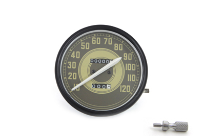 Speedometer with 1:1 Ratio and Army Graphics