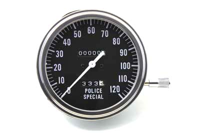 Police Special Speedometer with 2:1 Ratio