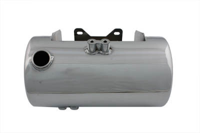 Chrome Round Side Fill Oil Tank
