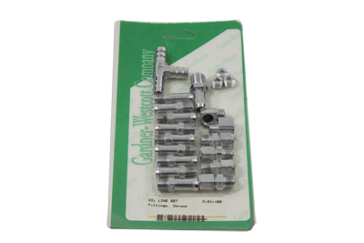 Oil Line Fitting Kit