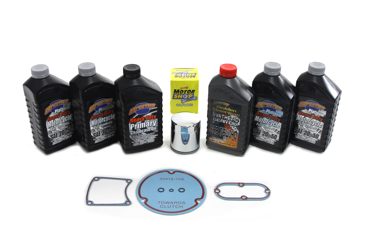 Evolution Complete Oil Change Kit