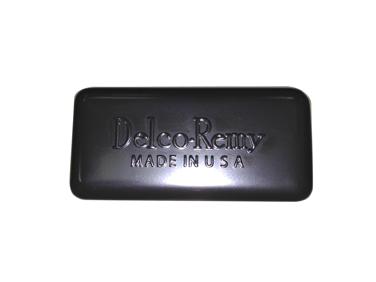 Black Replica Delco Remy Style Relay Cover