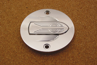 Flying Wheel Ignition System Cover Chrome