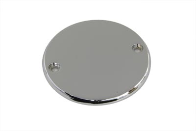 Smooth Ignition System Cover 2-Hole Chrome