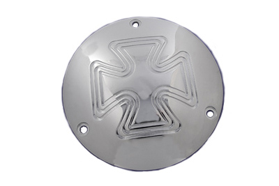 Cross Type Derby Cover Chrome
