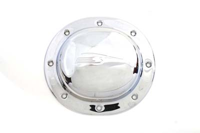 Bird Type Derby Cover Chrome