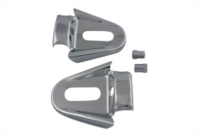Rear Frame Cover Set Chrome