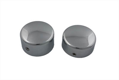 Swingarm Dome Cover Set Chrome