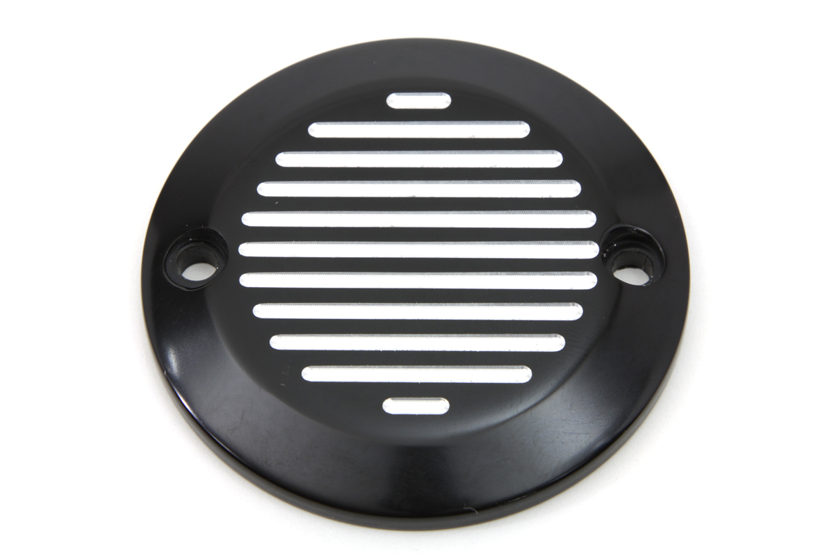 Black Ball Milled 3-Hole Derby Cover