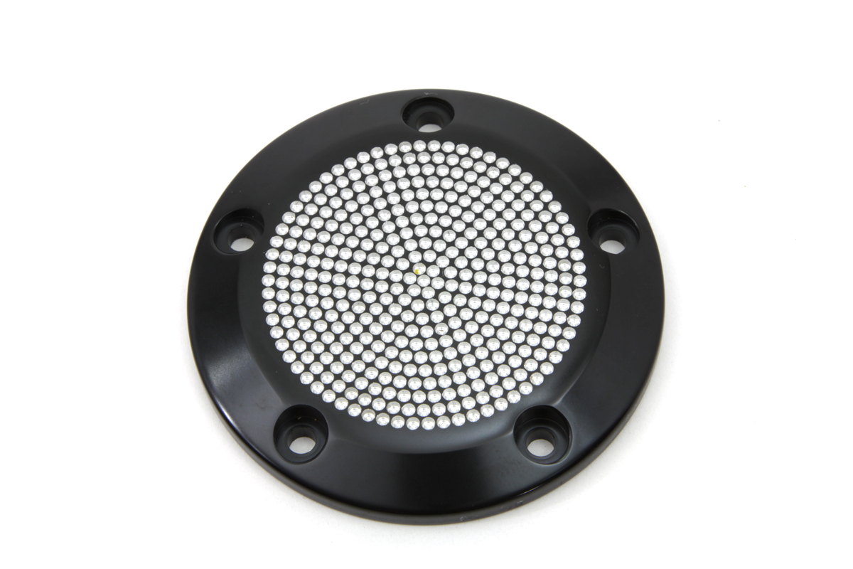 Black 5-Hole Perforated Ignition System Cover