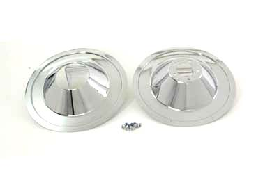 "16"" Front Wheel Cover Set Cast"
