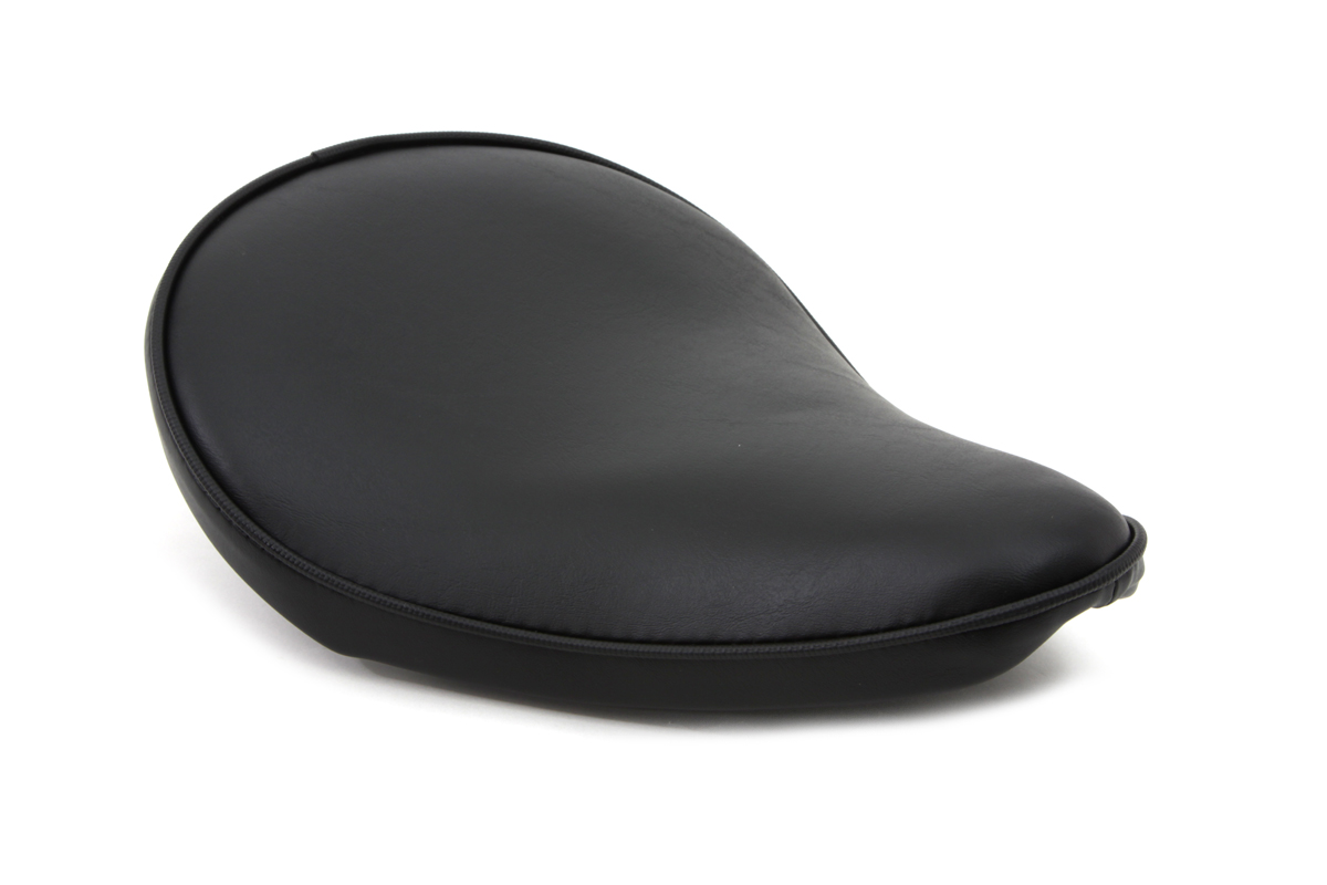 Black Smooth Solo Seat Small