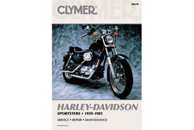 Clymer Repair Manual for 1959-1985 XL